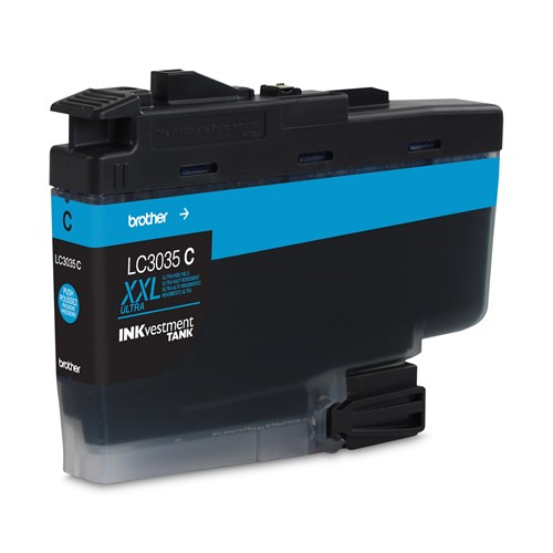 Brother LC3035CS INKvestment Tank Cyan Ink Cartridge, Ultra High Yield