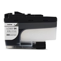 Brother LC3037BKS Genuine Super High-Yield Black INKvestment Tank Ink Cartridge