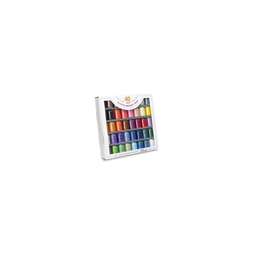 Brother 40-Colour Embroidery Thread Set