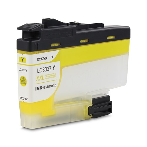 Brother LC3037YS Yellow Ink Cartridge, Super High Yield