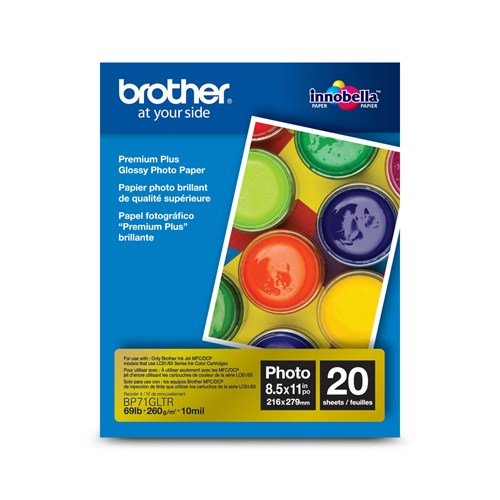 Brother BP71GLTR Innobella  Premium Glossy Paper (8.5