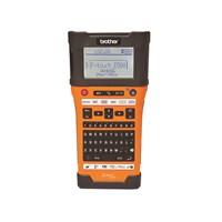 Brother PT-E500VP Advanced Industrial Handheld labeller with computer connectivity (USB)