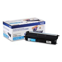 Brother TN433C Toner Cartridge Cyan, High-Yield
