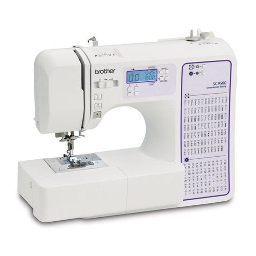 Brother SC9500 Computerized Sewing & Quilting Machine - Brother Canada : quilting machines canada - Adamdwight.com