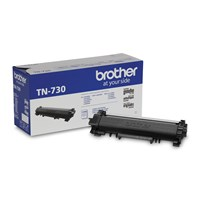 Brother Genuine TN730 Mono Laser Toner Cartridge