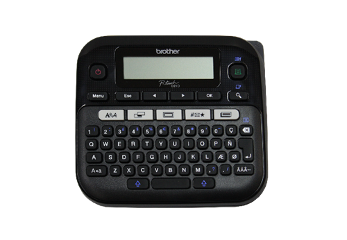 Brother RPT-D210BK Refurbished Easy-to-Use Label Maker