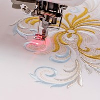 Brother Droplight  Embroidery Foot with LED Pointer