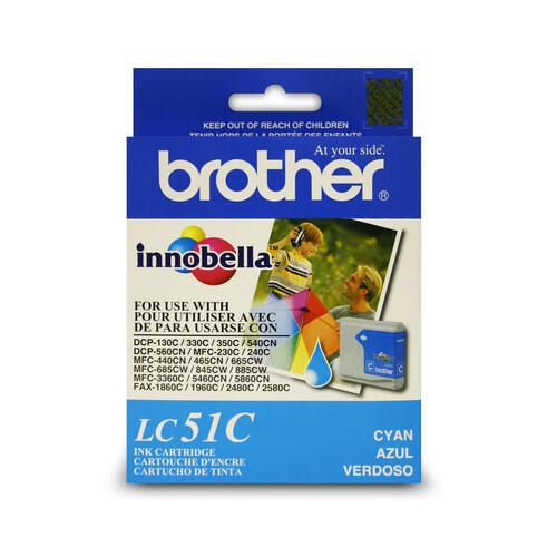 Brother B-LC51C (Single Cartridge)