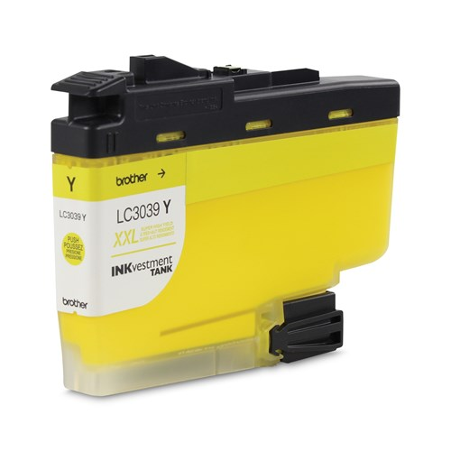Brother LC3039YS Yellow Ink Cartridge, Ultra High Yield