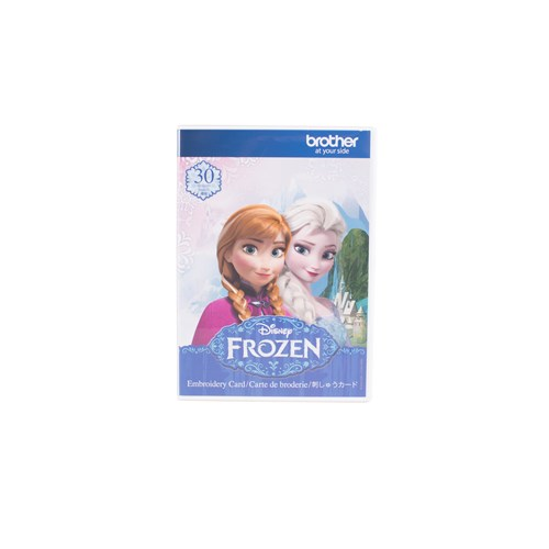 Brother SA325D Disney Frozen Embroidery Card - Brother Canada
