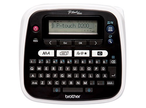 Brother Pt D200 Easy To Use Label Maker Brother Canada