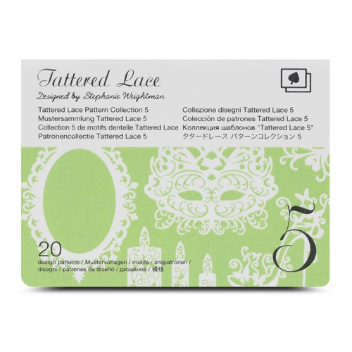 Brother CATTLP05 Tattered Lace Pattern Collection 5