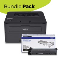 Brother RHL-L2360DWB Refurbished Mono Laser BUNDLE PACK