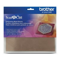 Brother CAEBSBMS1 Embossing Brass Metal Sheets
