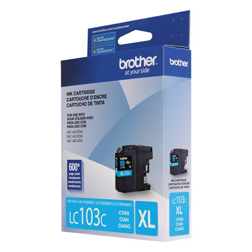 Brother LC103CS Innobella  Ink Cartridge   Cyan, High Yield (XL Series)