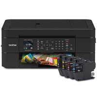 Brother MFC-J491DW Wireless Colour Inkjet Multifunction - Bundle