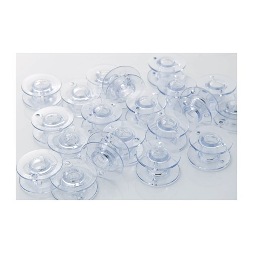 Brother SA156 Clear Plastic Standard Bobbins   10-pack, 11.5 Size