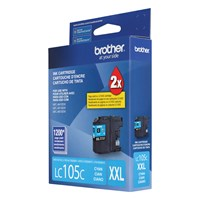 Brother LC105CS Innobella  Ink Cartridge   Cyan, Super High Yield (XXL Series)