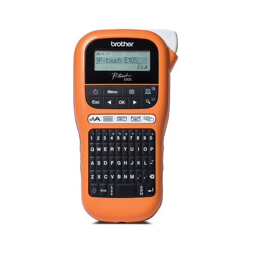 Brother P-touch PT-E105 Industrial Handheld Labelling Tool