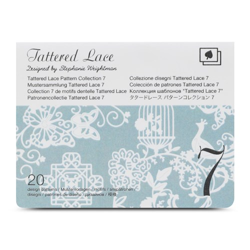 Brother CATTLP07 Tattered Lace Pattern Collection 7