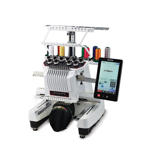 Brother PR1050X The Entrepreneur® PRO X 10-Needle Embroidery Machine