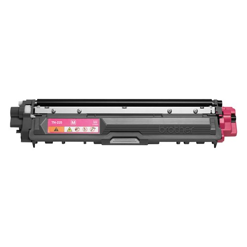 Brother TN225M Magenta Toner Cartridge, High Yield