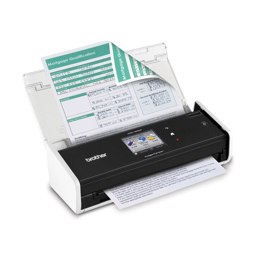 Brother ADS-1500W Wireless Compact Colour Scanner