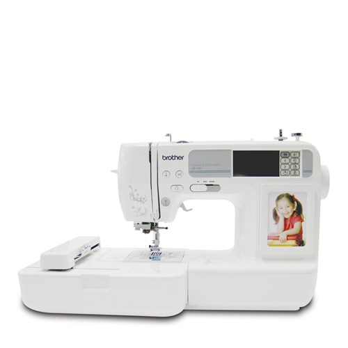 Brother HE240 Sewing, Quilting & Embroidery Machine - Brother Canada : quilting machines canada - Adamdwight.com