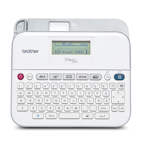 Brother RPT-D400AD Refurbished Versatile Label Maker