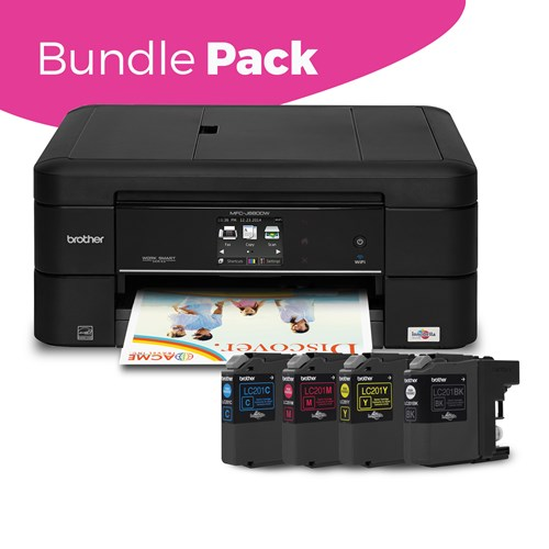 Brother MFC-J680DWB Wireless Colour Inkjet Multifunction BUNDLE PACK