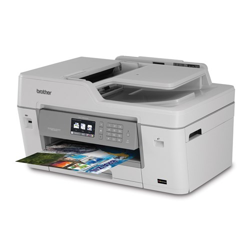 Brother MFC-J6535DW Professional Colour Inkjet Multifunction with INKvestment Cartridges