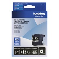 Brother LC103BKS Innobella  Ink Cartridge   Black, High Yield (XL Series)