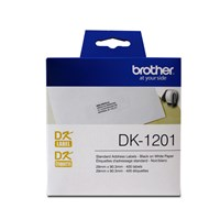 "Brother DK1201 Standard Address Paper Labels (400 labels)   1.1"" x 3.5"" (29 mm x 90.3 mm)"