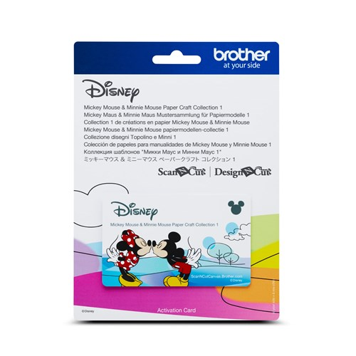 Brother CADSNP01 Disney Mickey and Minnie Mouse Pattern Collection 1