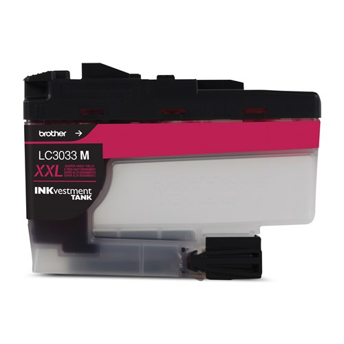Brother LC3033MS INKvestment Tank Magenta Ink Cartridge, Super High Yield