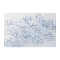 Brother Bobbins, clear plastic, 10-pack, 9.4 size