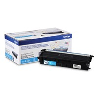 Brother TN436C Toner Cartridge Cyan, Super High-Yield