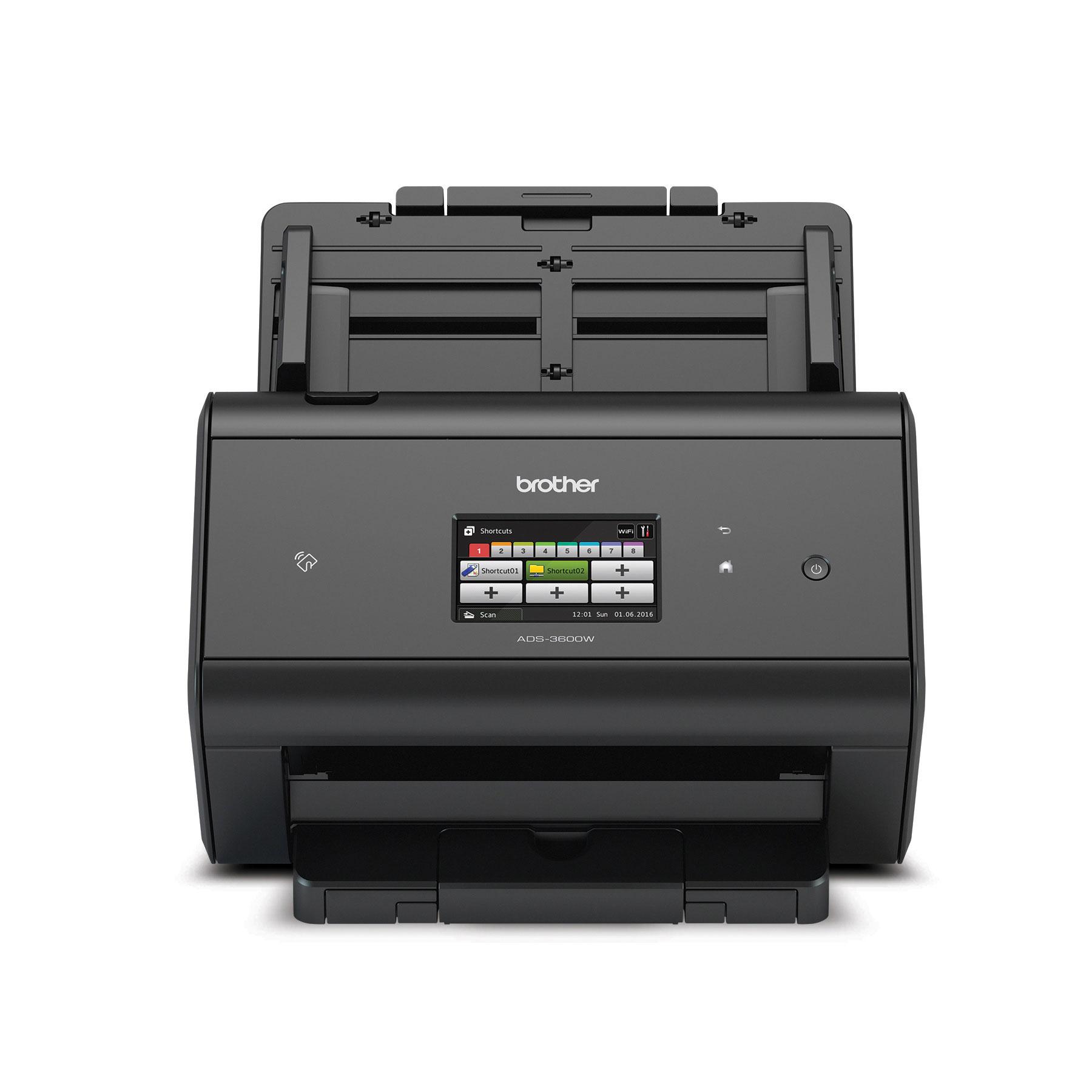 Scanner de bureau haute vitesse sans fil ADS3600W de Brother