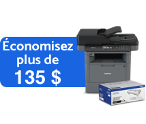 Brother Imprimante multifonction laser monochrome d'affaires