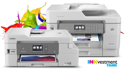 Brother MFC-J995DW and MFC-J6545DW INKvestment Tank inkjet all-in-one printers
