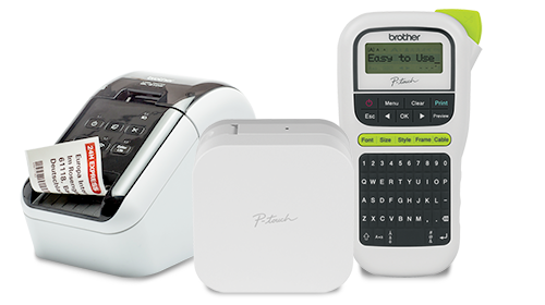 Brother P-touch label makers and label printers