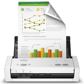 Brother ADS-1250DW compact scanner