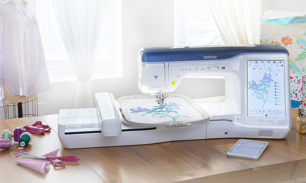 Brother XJ1 Stellaire sewing, quilting and embroidery machine