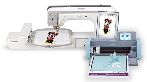 Brother XP2 The Luminaire and SDX125 ScanNCut for sewing and crafting