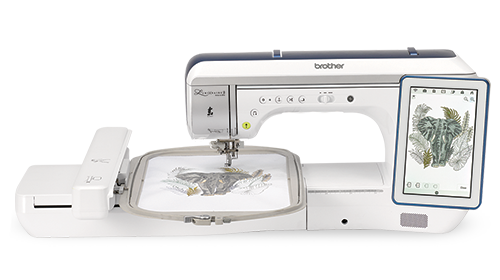 Brother XP2 The Luminaire sewing, quilting and embroidery machine