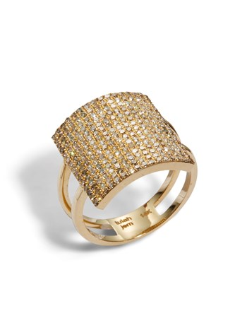 avery pave diamond ring