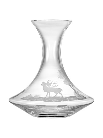 stag crystal carafe