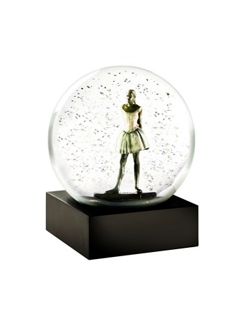 degas dancer snow globe
