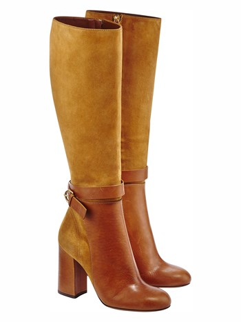 alessa suede knee high boot