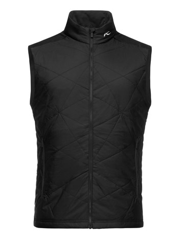 retention stretch quilted vest
